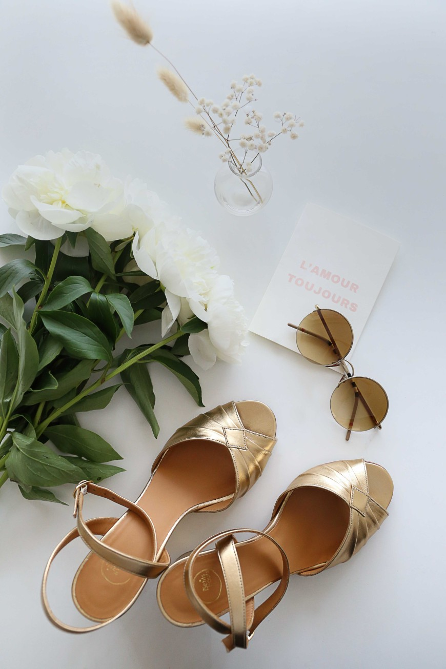 tips-mariage-mademoiselle-claudine-chaussures-doree