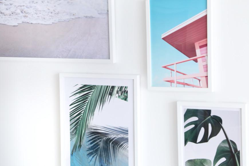 cadre-palmier-californie-desenio-decoraiton-murale-mademoiselel-claudine-