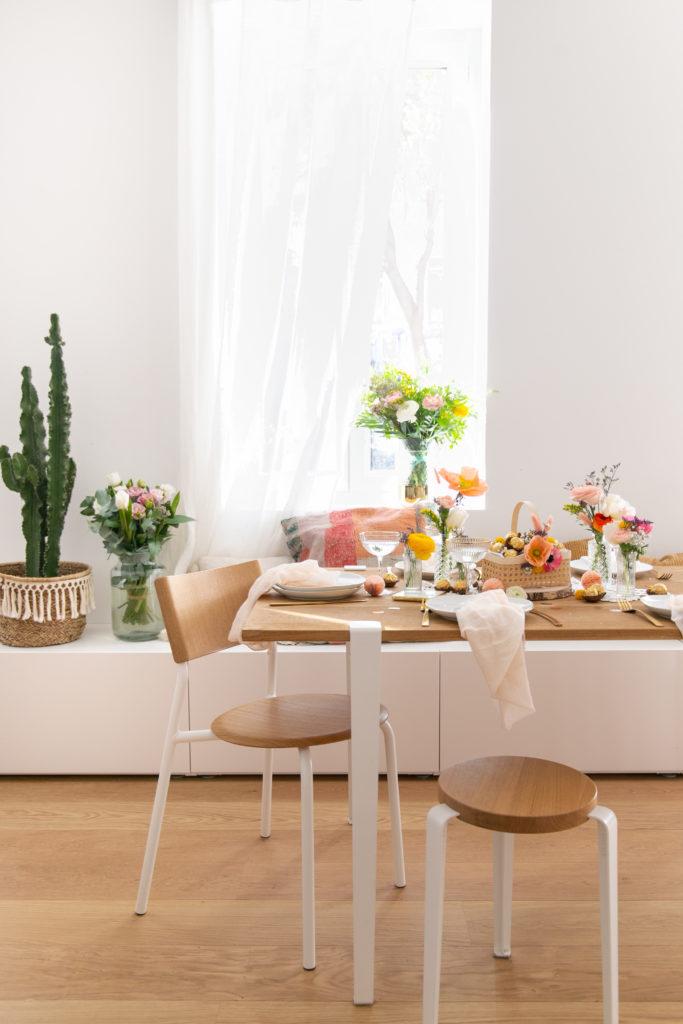 DIY Panier fleuri de Pâques